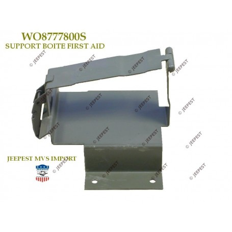 SUPPORT BOITE FIRST AID JEEP MB