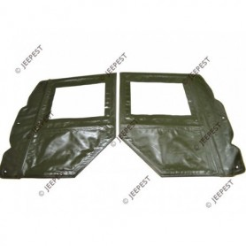 DOORS TARPAULIN OD VINYL (SET OF 2)