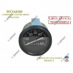 SPEEDOMETER MILES EARLY STD REPLICA