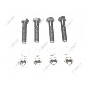 KIT FIXING REGULATOR/FENDER JEEP 6V (SET OF 4)
