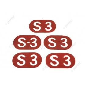 MEDAILLON ROUGE S3 (LE JEU)