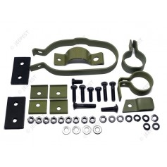 KIT CLAMPS AND INSULATORS MUFFLER STD