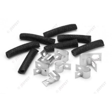 KIT CLAMPS FIXING FUEL TUBE JEEP GPW
