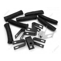 KIT CLAMPS FIXING FUEL TUBE JEEP MB