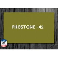 "POCHOIR ""PRESTONE 42"" MASQUE AUTOCOLLANT"