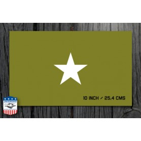 STAR 10 INCH STENCIL STICKER