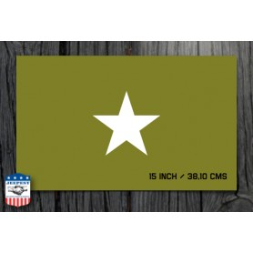 STAR 15 INCH STENCIL STICKER