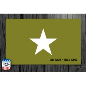 STAR 20 INCH STENCIL STICKER