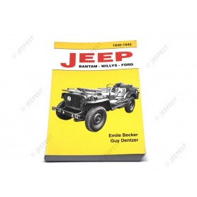 LIVRE JEEP BANTAM WILLYS FORD DE BECKER NET