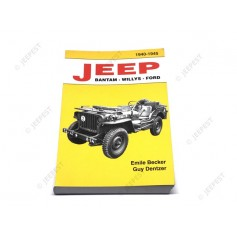 BOOK JEEP BANTAM WILLYS FORD FROM BECKER