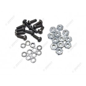KIT SCREWS&NUTS DATA PLATES WILLYS