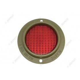 REFLECTOR ROUND TYPE RED C&B