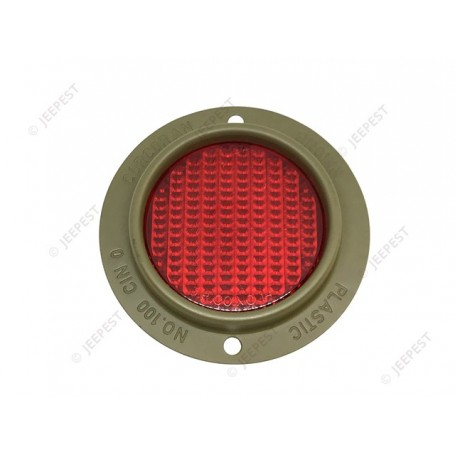 REFLECTOR ROUND TYPE RED C&B