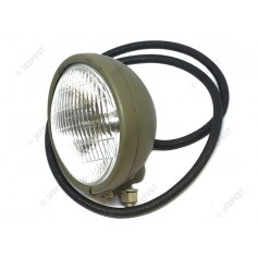 LAMP HEAD RIGHT 6V WITH CABLE JEEP US NET