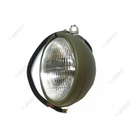 LAMP HEAD LEFT 6V WITH CABLE JEEP US NET