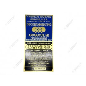 STICKER DECONTAMINATOR US