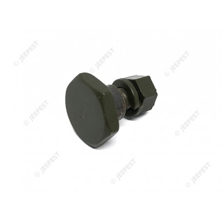 SCREW PLATE ANCHOR SAFETY STRAP GPW