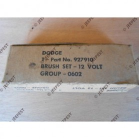 BRUSH STARTER 12 VOLTS (SET OF 4) DODGE