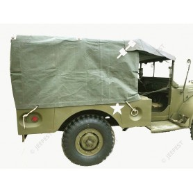 "COVER WC51 COLLECTION""JEEPEST"" CARGO REAR BODY"