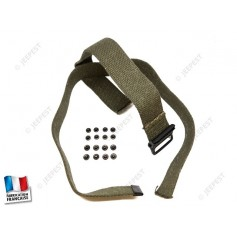 "SANGLE JERRYCAN ""MADE IN FRANCE"" (JEU + RIVETS)"