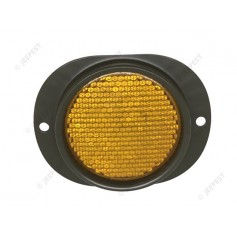 REFLECTOR OVAL TYPE YELLOW