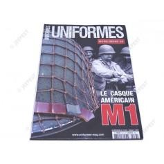 MAGAZINE UNIFORMES HS33 LE CASQUE AMERICAIN M1 NET