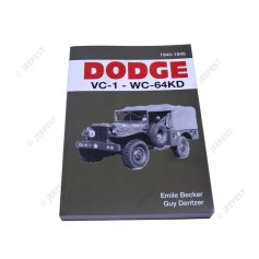 BOOK DODGE VC-1 WC64 KD