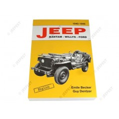 BOOK JEEP BANT WILLYS FORD BECKER ENGLISH VERSION NET