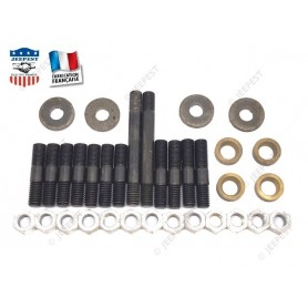 KIT STUDS+NUTS+WASHERS IN/EX ENGINE MANIFOLD