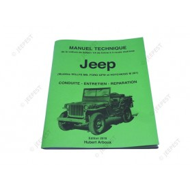 MANUAL MAINTENANCE JEEP