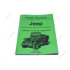LIVRE NOTICE TECHNIQUE JEEP