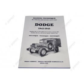 LIVRE NOTICE TECHNIQUE DODGE