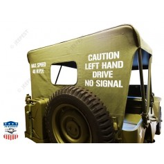 "BACHE JEEP WW2 COLLECTION ""JEEPEST""+ STENCILS"