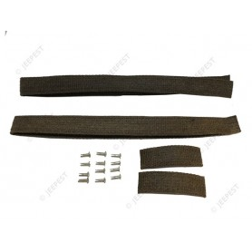ANTISQUEEK GAS TANK STRAPS (SET OF 4)