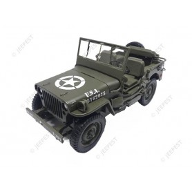 JEEP WILLYS 1/18 WITHOUT TOP 1942