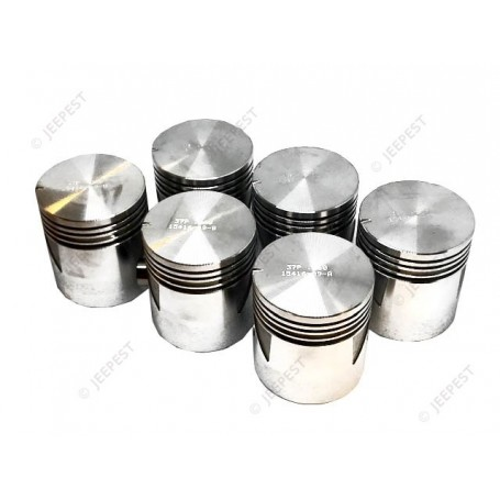 PISTON WITH PIN +040 (SET OF 6)