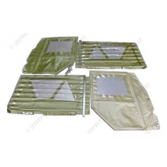 DOORS+SIDES TARPAULIN OD VINYL(SET OF 4)