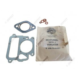 GASKETS SET CARBURETOR LATE GMC