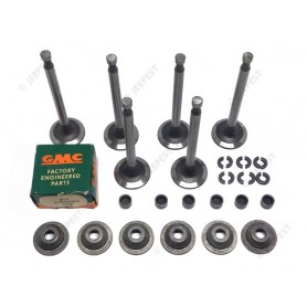 KIT VALVE EXHAUST ROTATOR TYPE (CUPS&KEYS) GMC