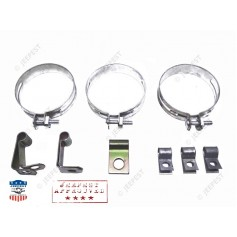 KIT CLAMPS FIXING BRAKE TUBE MB
