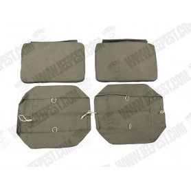 COVER SEAT SET GMC OPEN CAB