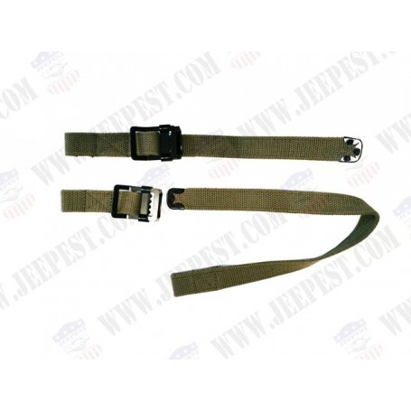 STRAPS AX AND SHOWEL US (SET OF 2) NET