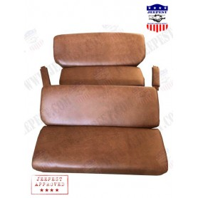CUSHIONS COMPLETE LEATHERETTE DODGE COMMAND CAR NET