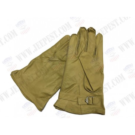 GLOVES LEATHER PARACHUTIST SIZE ON REQUEST
