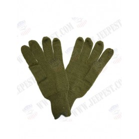 GLOVES WOOL OLIVE DRAB
