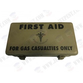BOX FIRST AID KIT GAS CASUALITIES USA