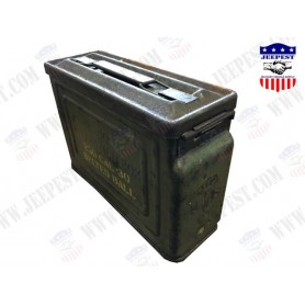 BOX AMMUNITION CAL 30 BRITISH MADE NET