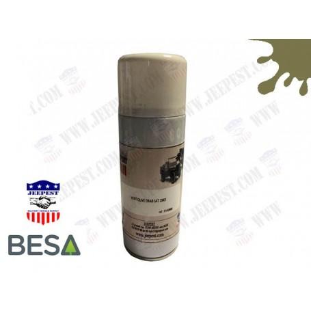 PEINTURE BOMBE AEROSOL VERT OLIVE SAT1945