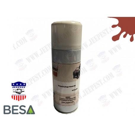 PEINTURE BOMBE AEROSOL BRUN/ROUGE PRIMAIRE NET