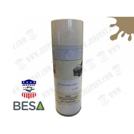 PEINTURE BOMBE AEROSOL JAUNE SABLE